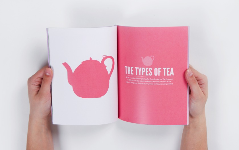 Types of tea page