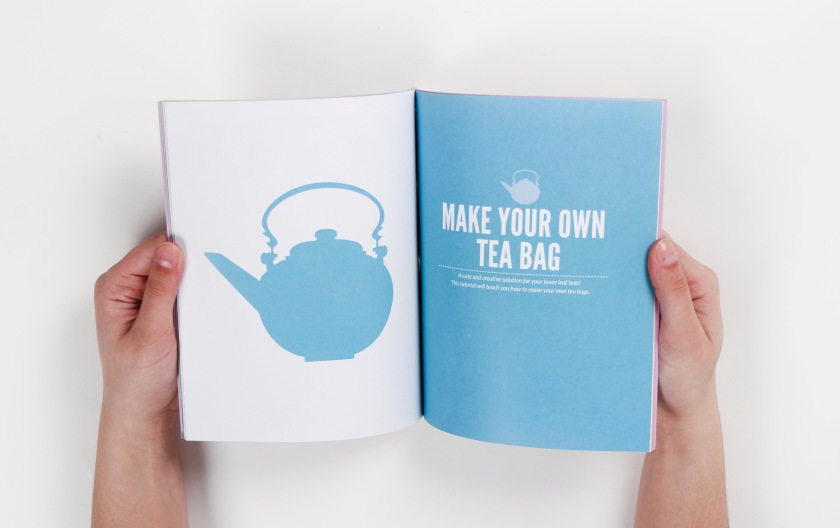 How to make your own tea bag