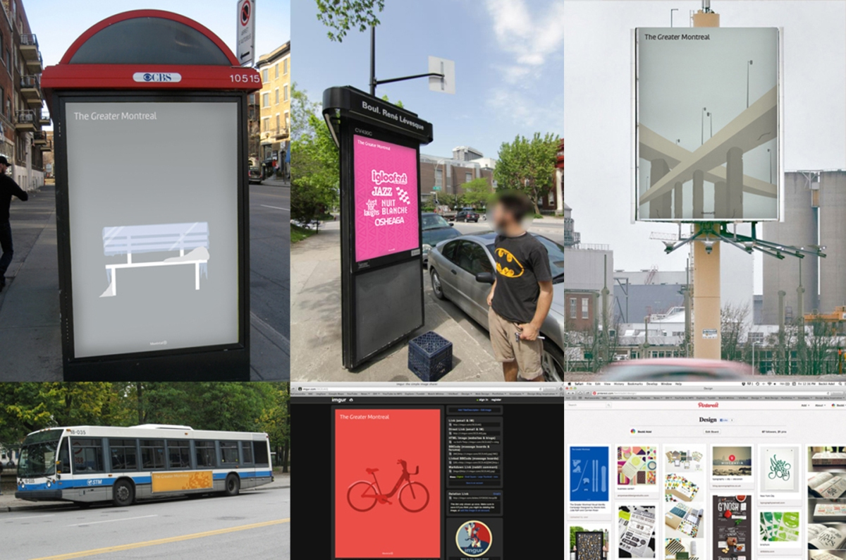 The 'Greater' Montreal Identity Campaign